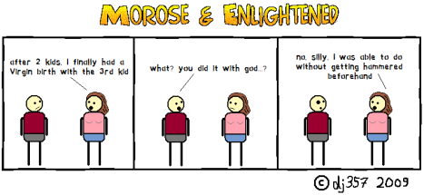 Morose & Enlightened Webcomic #2