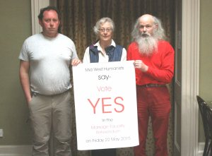 Mid-West Humanists say YES